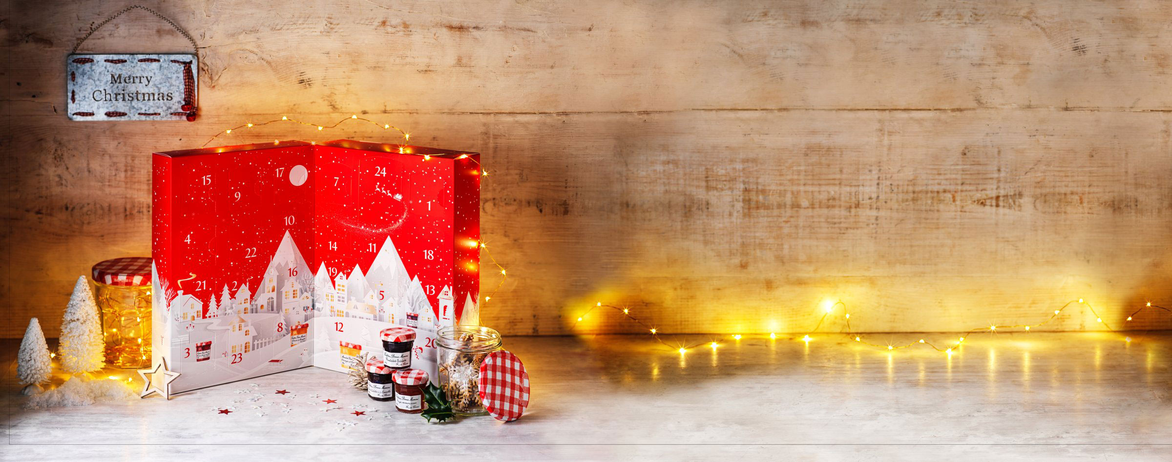 It's here! The new                Bonne Maman Advent Calendar!