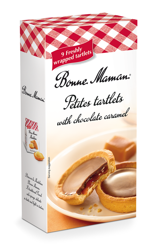 Petites Tartlets With Chocolate Caramel - Bonne Maman