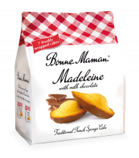 Madeleine with Milk Chocolate